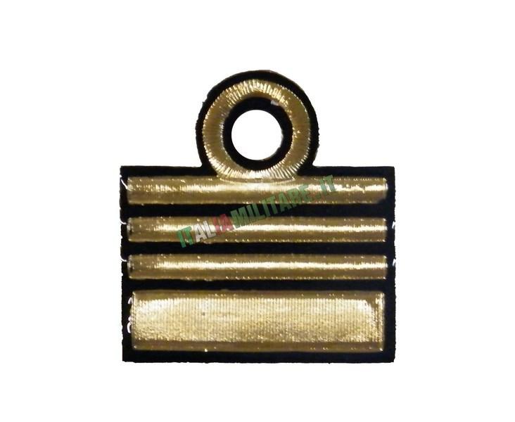 Gradi in Metallo Marina Militare Capitano di Vascello    Gradi... f903ab711823