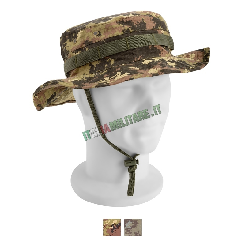 Cappello Jungle Militare Openland Vegetato    Cappelli Militari e... 9fed14a18c94
