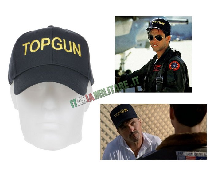 Cappello TOP GUN Militare del Film con Tom Cruise 7d1fa44a7f8d