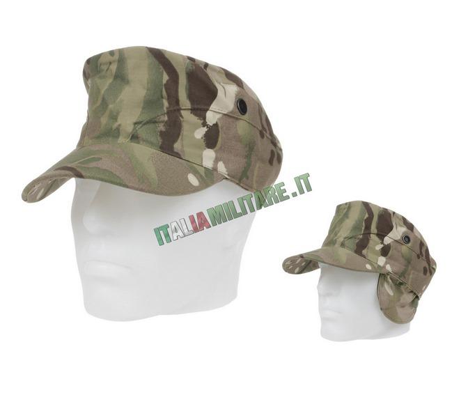 Cappello con Visiera Mimetica MTP Inglese Originale Nuovo e205e3b205b5