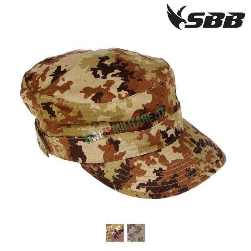 Cappello SBB Militare Vegetato con Visiera    Cappelli Militari e... 88c61a5e778e