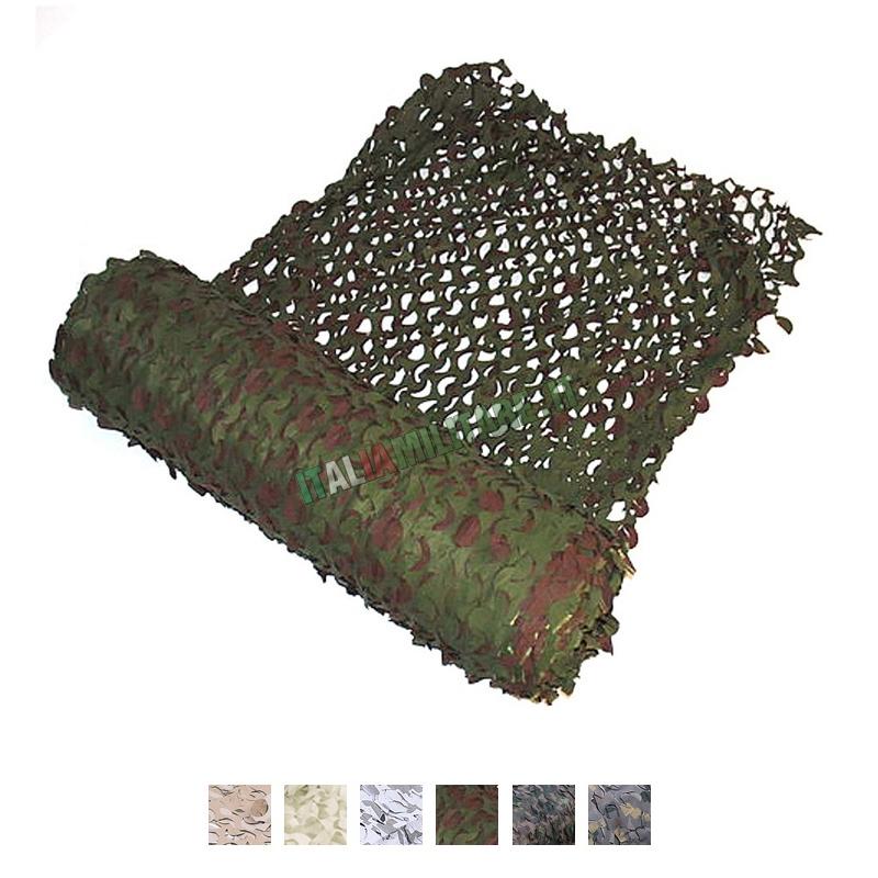 Rete Militare Mimetica al Metro 3D Woodland    Reti Mimetiche 81fad21490cf