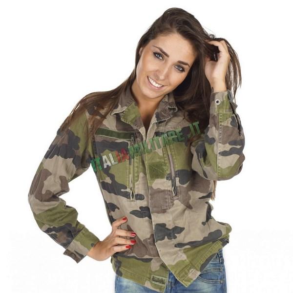 giacca militare da donna f1 francese originale surplus vario. Black Bedroom Furniture Sets. Home Design Ideas