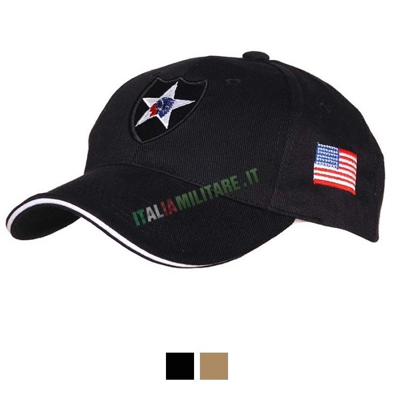 Cappello 2 Divisione Fanteria Esercito Americano    Cappelli con... 89d34917e3e5