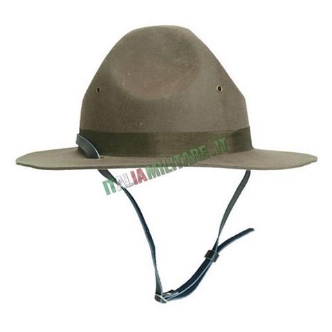 1a6cd07498 Cappello Istruttore Militare o Boy Scout Americano :: Cappelli...