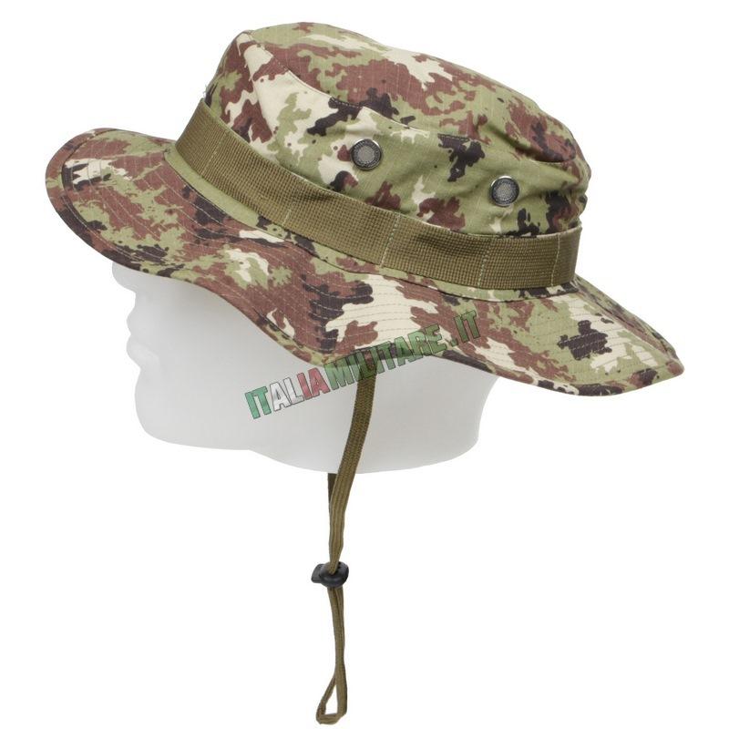 Cappello Militare Jungle Vegetato OMD    Cappelli Militari e Vari... 068fceb078e5