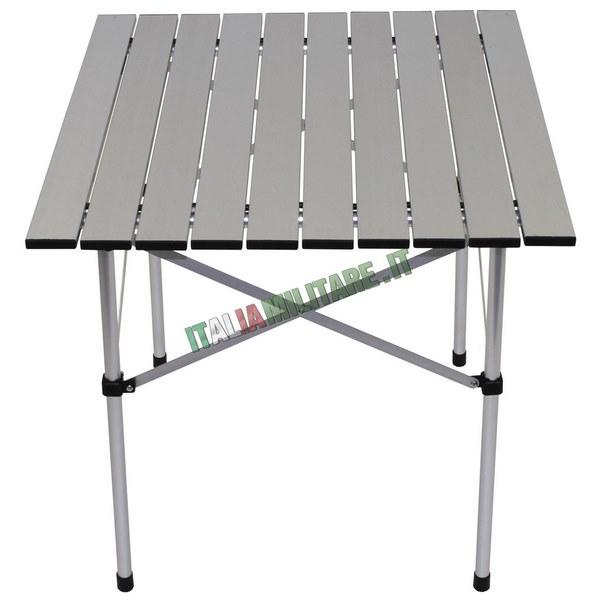 Tavolo In Alluminio Da Campeggio.Tavolo Pieghevole Da Campeggio 70 X 70 Cm Sedie Tavoli E Amache