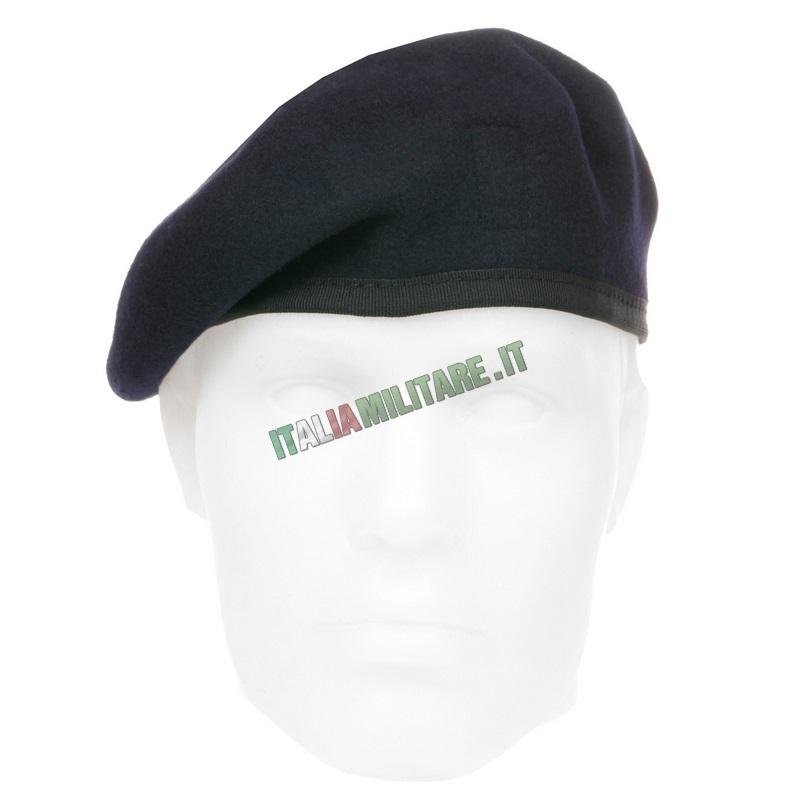 Basco Spagnolo Bordo Tessuto Blu    Cappelli Divisa 42e67b2ceebb