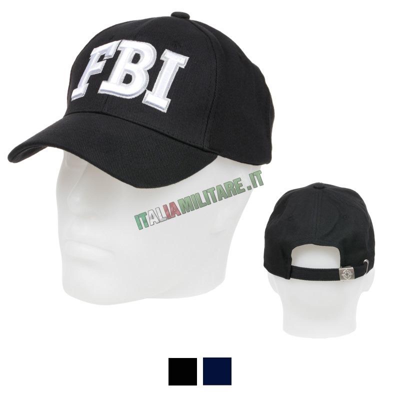 Cappello FBI Nero    Cappelli con Loghi    Cappelli d4e928cc0097