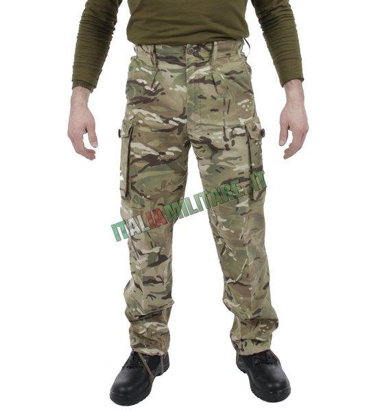 rivenditore online f64e8 56594 Pantaloni Mimetica MTP Inglesi Originali modello PCS