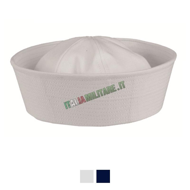 Cappello da Marinaio Militare Americano Bianco    Cappelli Militari... 97aac7635be6