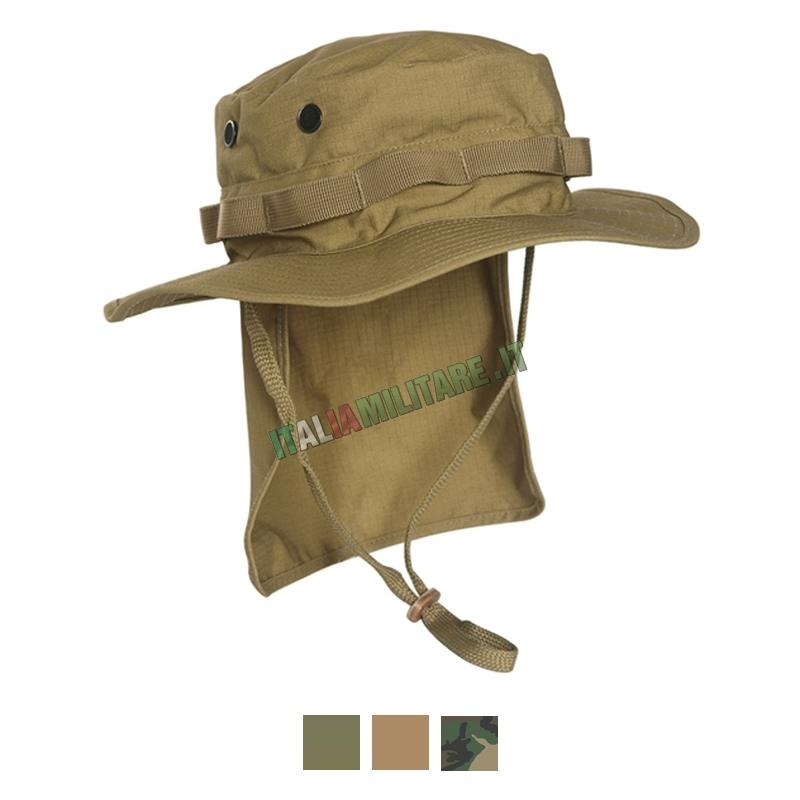 Cappello con Paracollo Militare Inglese Tan 7172ce90f8d4