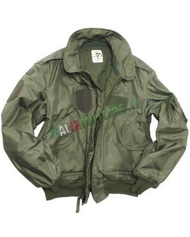 vendita calda online 7440c 64264 Giacca Bomber CWU Militare Originale MA2 Verde :: Surplus ...