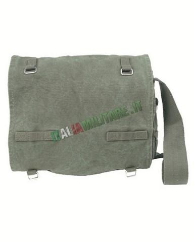 03511d7865 Borsa Militare Vintage Uomo in 100% Cotone Verde :: Borse, Marsupi...