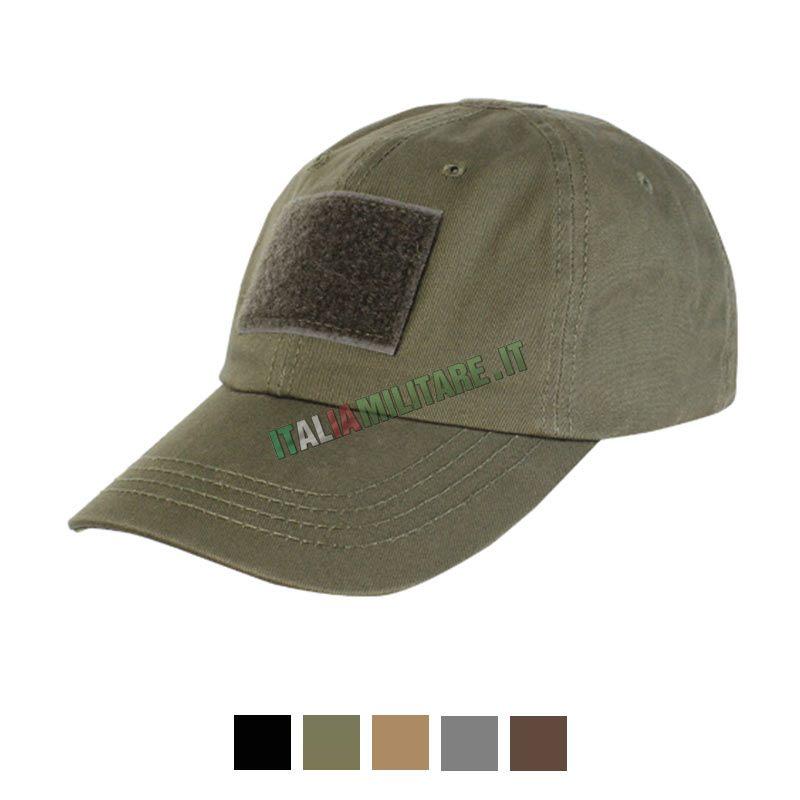 Cappello Con Visiera e Velcri Tactical Condor Verde    Cappelli... 9285a29ce1ab