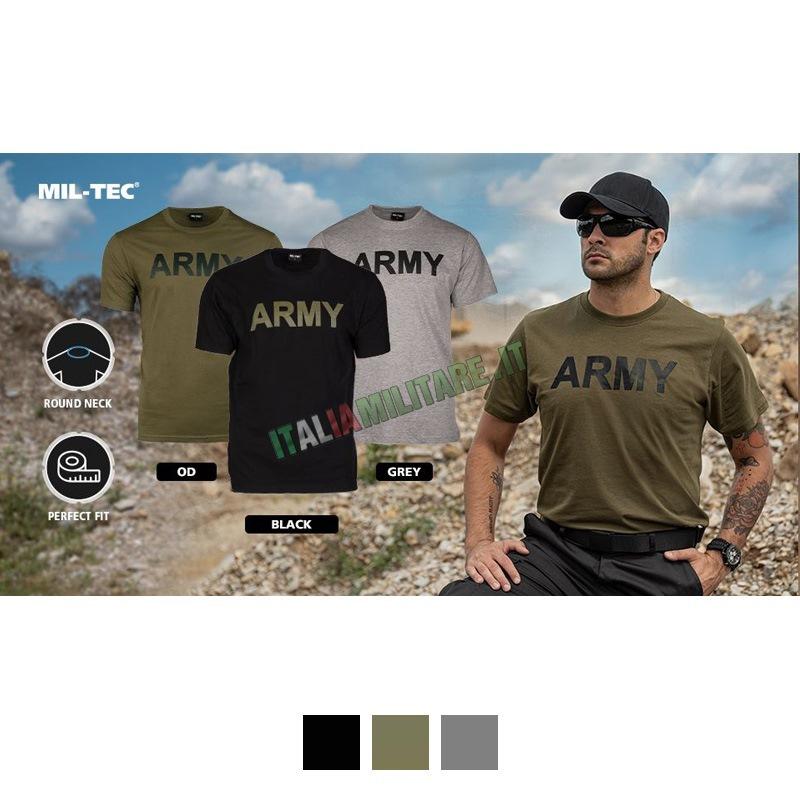 T-Shirt Army Militare Americana Nera    T-Shirt con Loghi   ... db0fdb9726f4