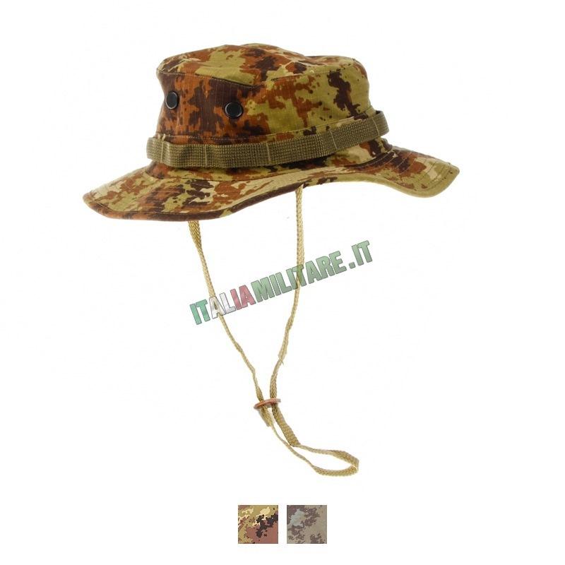 Cappello Jungle SBB Militare Vegetato    Cappelli Militari e Vari... c0b72571a448