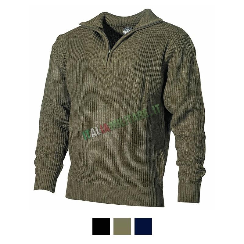 Verde Militare Verde Maglione Maglione Troyer Militare Troyer PkZiXuO