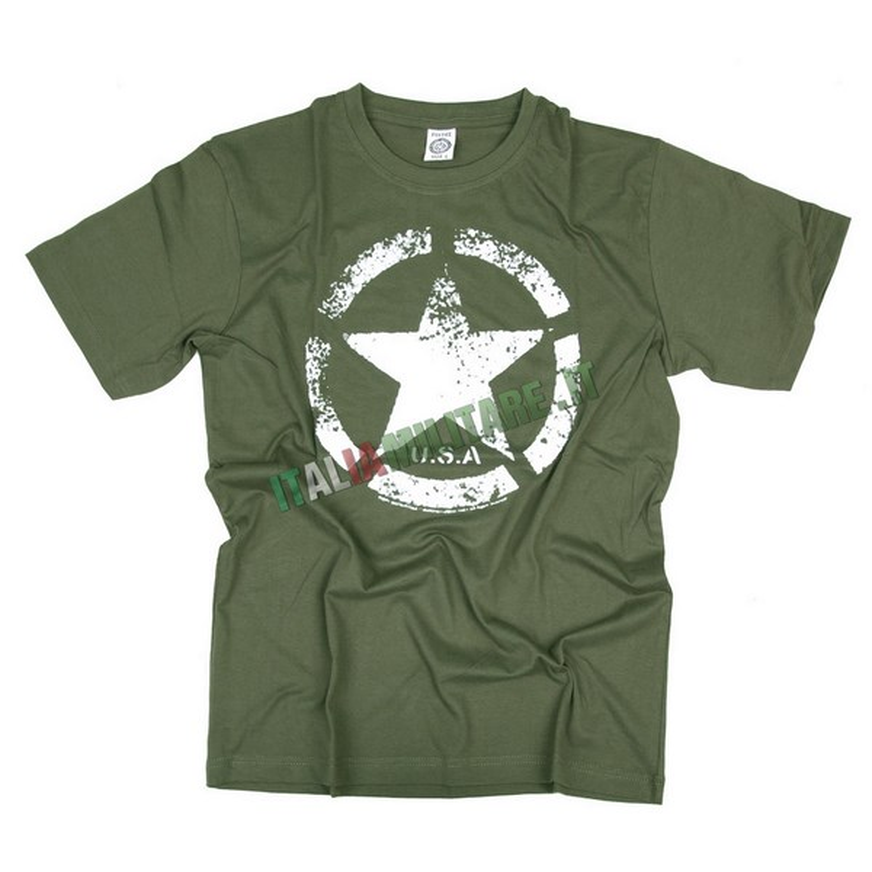 T-Shirt US Army Star Vintage    T-Shirt con Loghi    Abbigliamento... c21893354dc2