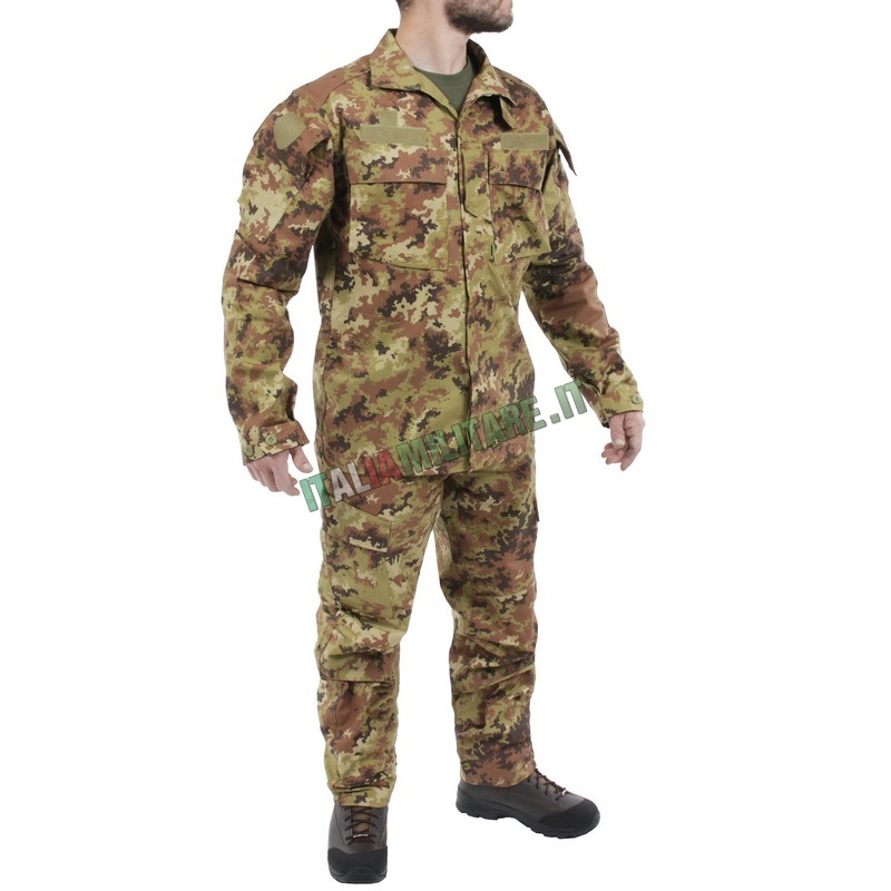 Mimetica Vegetata Militare OMD completa di Giacca e Pantalone -... aeaa55a0d0fe