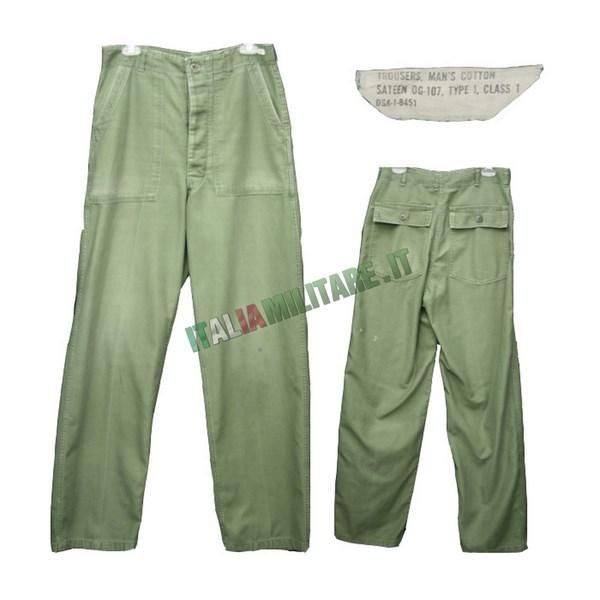 Militari 107 Americani Surplus Originali Americano Og Pantaloni TWdwAxgnT