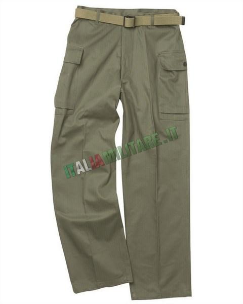 Pantaloni Militari Americani WWII mod HBT    Reenacting WWII... c70fd73cf79