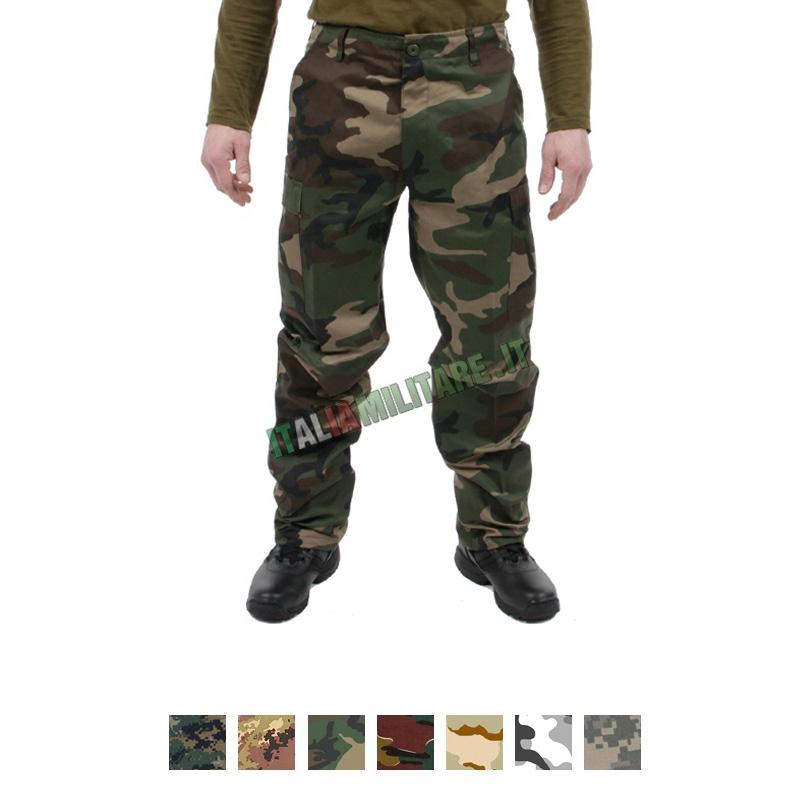 prezzo più basso 8d588 6cc48 Pantaloni Militari BDU Woodland :: Pantaloni Lunghi e ...