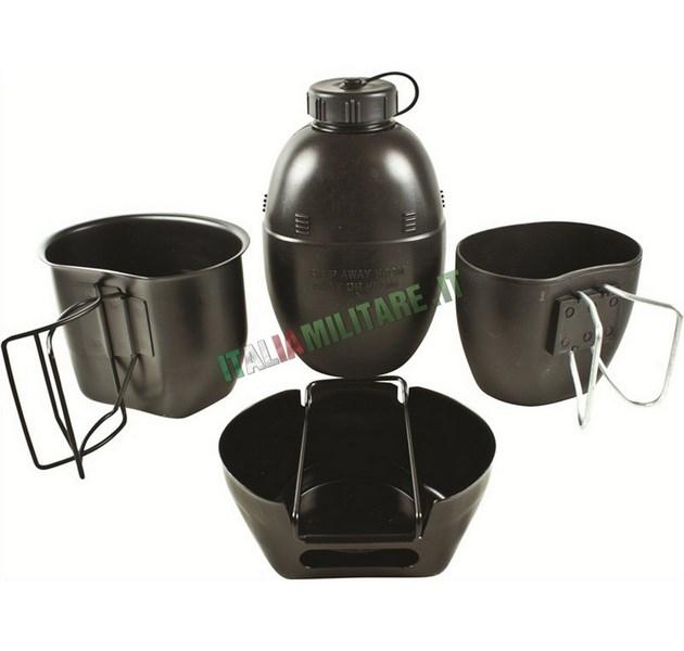 Kit per cucinare militare inglese bcb nero fornelli for Cucinare in inglese
