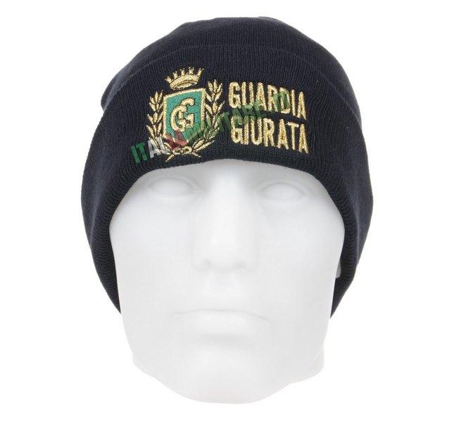 Berretto Lana con Ricamo Guardie Giurate 204c69389ca6