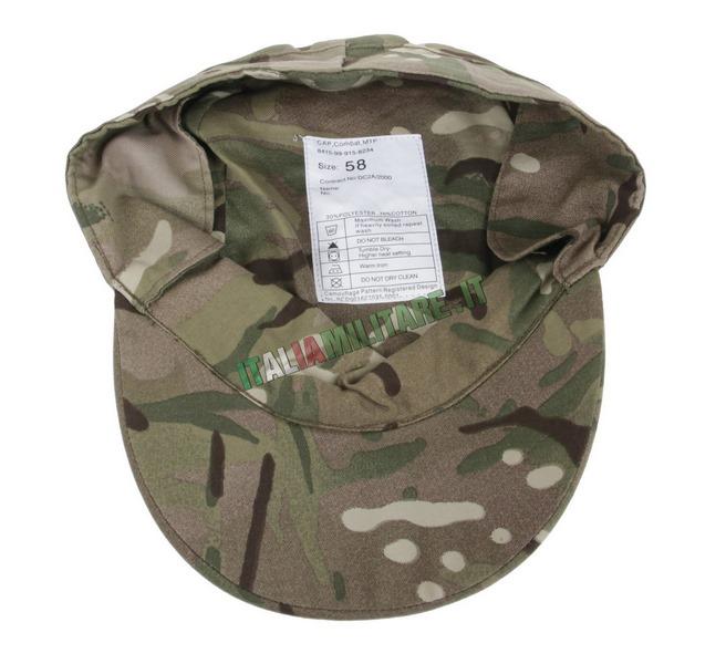 ... cappello con visiera e para orecchie mtp inglese originale fr 7  99e0b90a51 182660800c95
