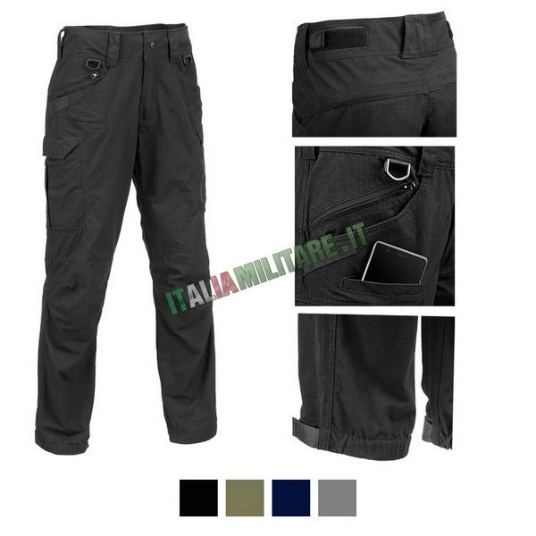 Pantaloni Lunghi Militari Verdi modello Basic Pant Defcon 5 Verde
