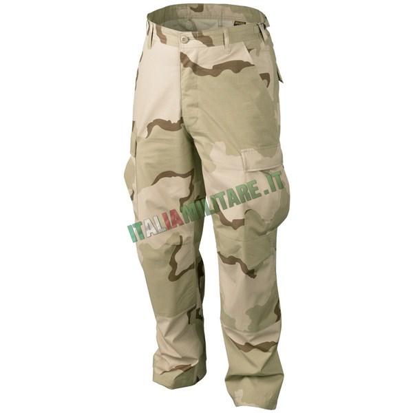 Pantalone Militare Esercito Americano ORIGINALE Mimetica DESERT 3 COLORI