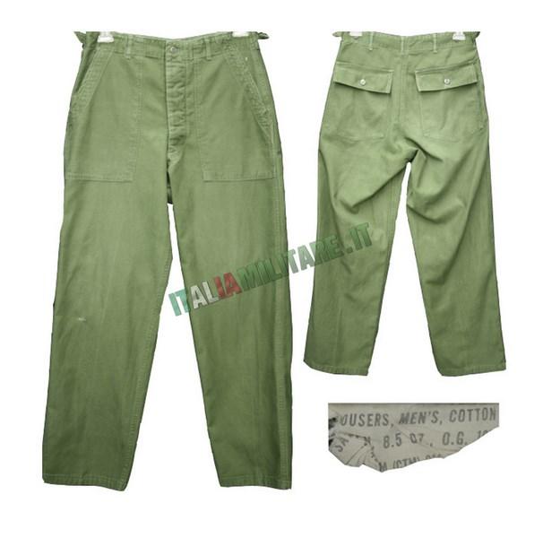 Pantaloni Americani 107 Americano Surplus Originali Og Militari 6rngZw6