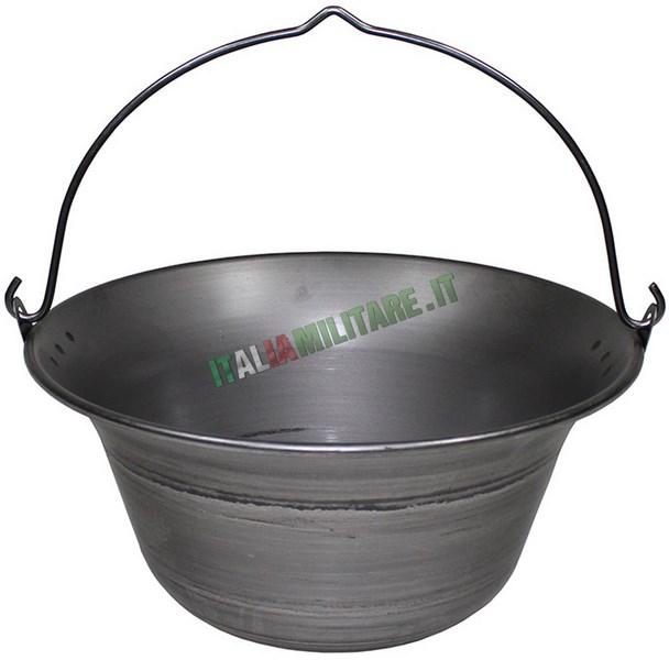 Pentolone per cucinare da 10 litri fornelli stoviglie for Cucinare per 50
