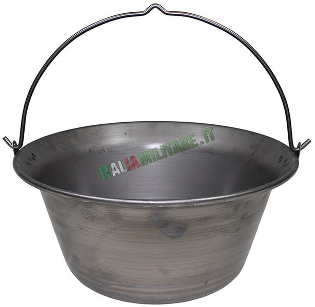 Pentolone per cucinare da 22 litri fornelli stoviglie for Cucinare per 50