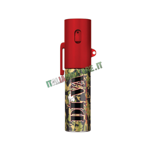 Spray al peperoncino antiaggressione diva medium - Spray al peperoncino diva top camo ...