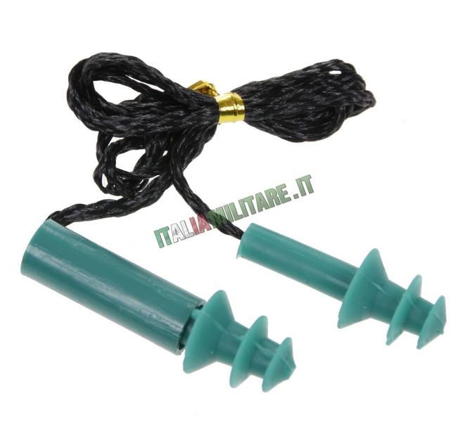 Tappi per orecchia da 27 decibels accessori per armi for Tappi antirumore 40 db
