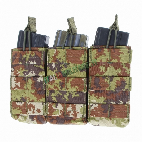 Tasca Porta 3 Caricatori Militare ATACS FG Modulare Molle