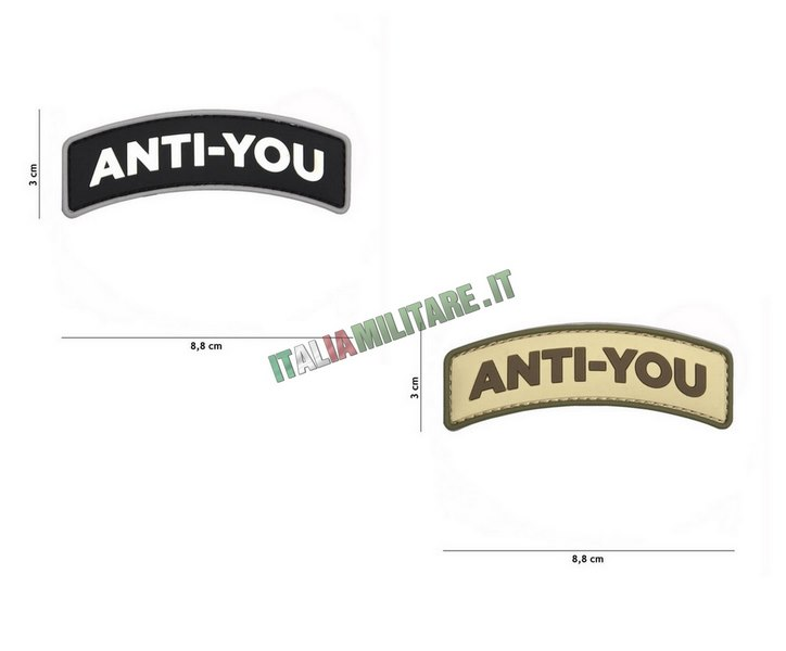 Patch Anti-You in Pvc