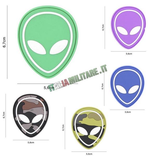 Patch Alien in Pvc