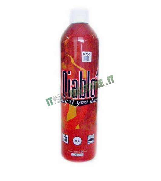 Green Gas 750 ml Diablo Super Potente