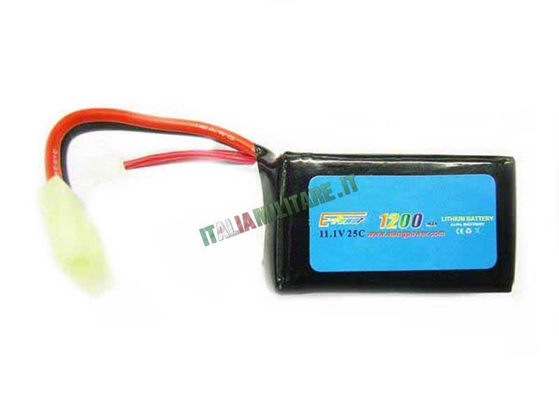 Batteria Lipo E-TANG POWER 11.1X1200 25C