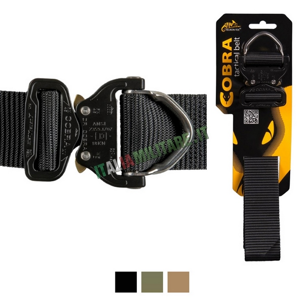 Cintura Cobra Tactical D-Ring HELIKON