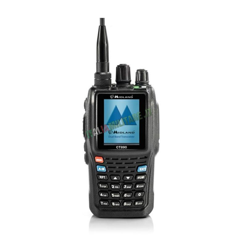 Radio Digitale Contractor Midland CT-890 Con Scrambler Voce
