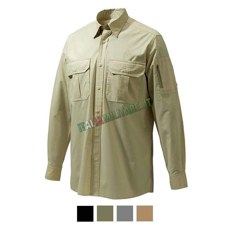 Camicia Mortirolo Maniche Lunghe BERETTA Training Gear