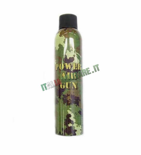 Gas Power Air Gun 400 ml Green Gas