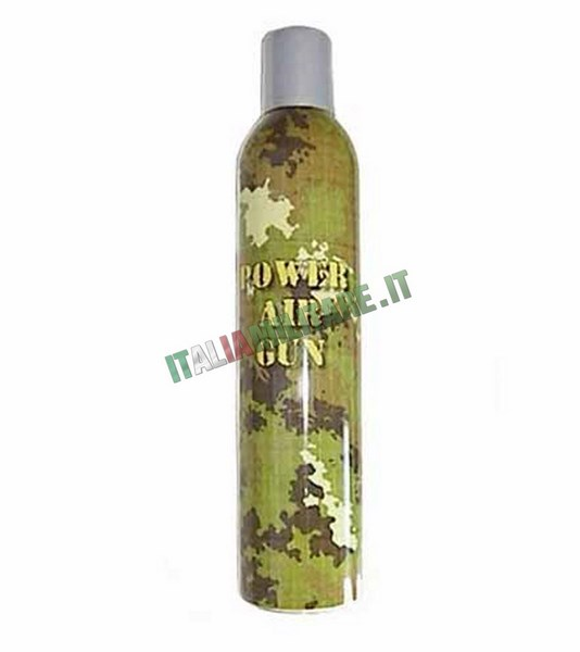 Gas Power Air Gun 600 ml Green Gas