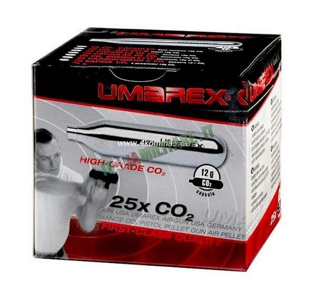 Confezione CO2 25 Pezzi UMAREX