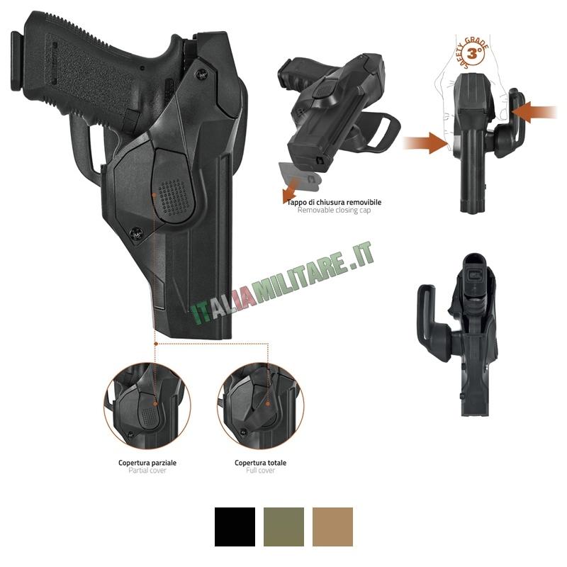 Vega Holster Fondina DCH8 Duty Cama - Livello III