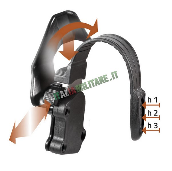 Vega Holster Sistema di Sicurezza Semi Automatico 8K95-ASPF